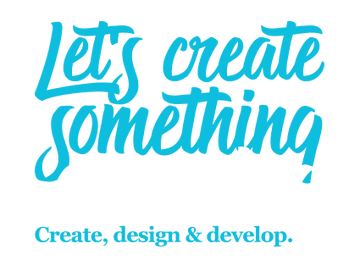 Lets Create Something Amazing Footer Img